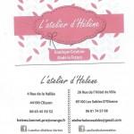 Carte de visite L'Atelier d'Héléne 001