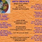 Arts Créatifs Atelier pour adultes eété