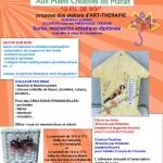 ateliers créatifs Art thérapie Sonia